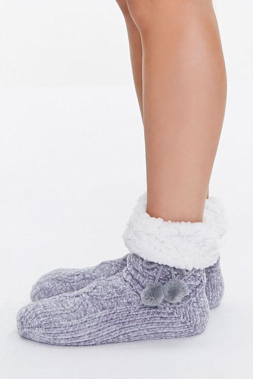 Pom Pom Indoor Slippers, image 2