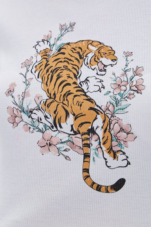 Ribbed Tiger Graphic Tee, image 5