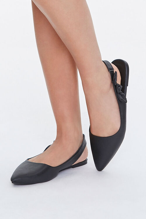 Pointed Slingback Flats, image 1