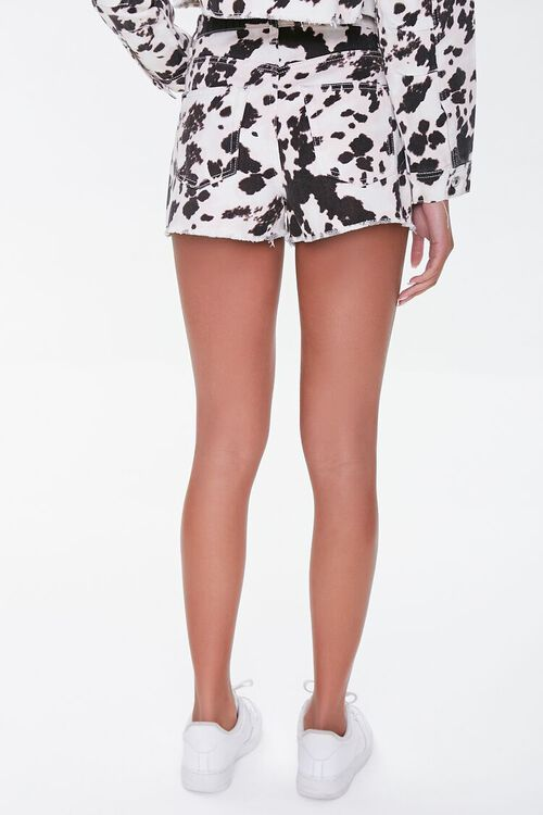 Cow Print Denim Shorts, image 4