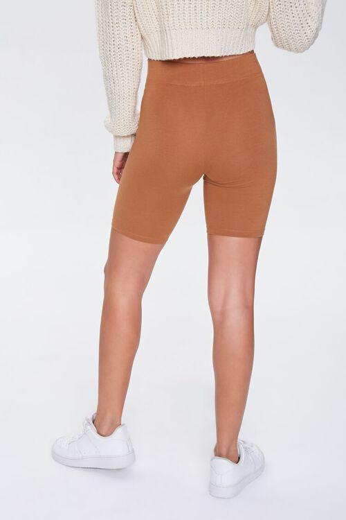 Basic Cotton-Blend Biker Shorts, image 4
