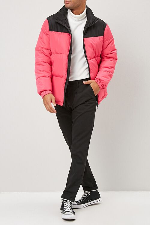 Colorblock Puffer Jacket, image 4