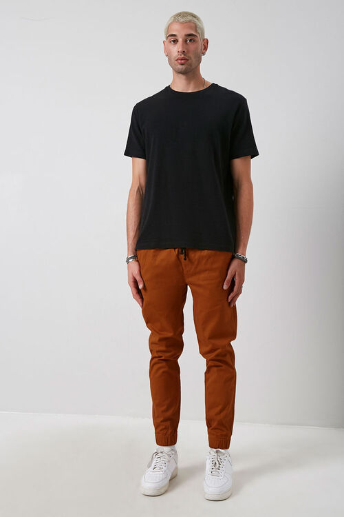 Slim-Fit Woven Joggers, image 4