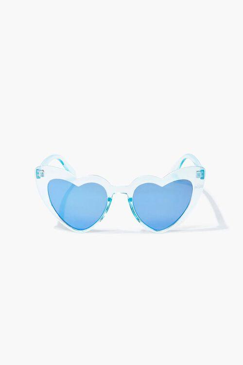 Transparent Heart-Shaped Sunglasses, image 1