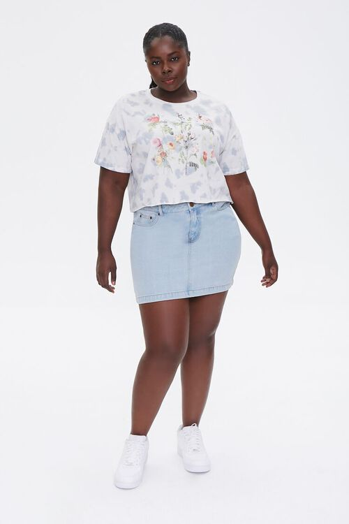 Plus Size Wildflower Graphic Tee, image 4
