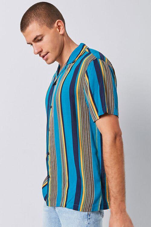 Vertical Striped Print Shirt, image 2