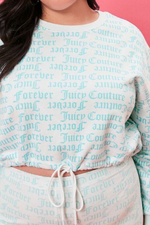 Plus Size Juicy Couture Fleece Pullover, image 5