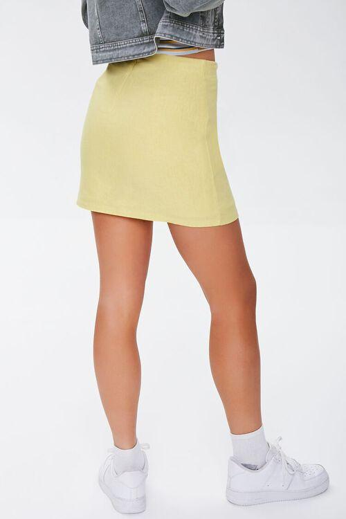 Linen-Blend Mini Skirt, image 4