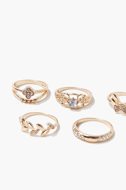 Butterfly Ring Set, image 3