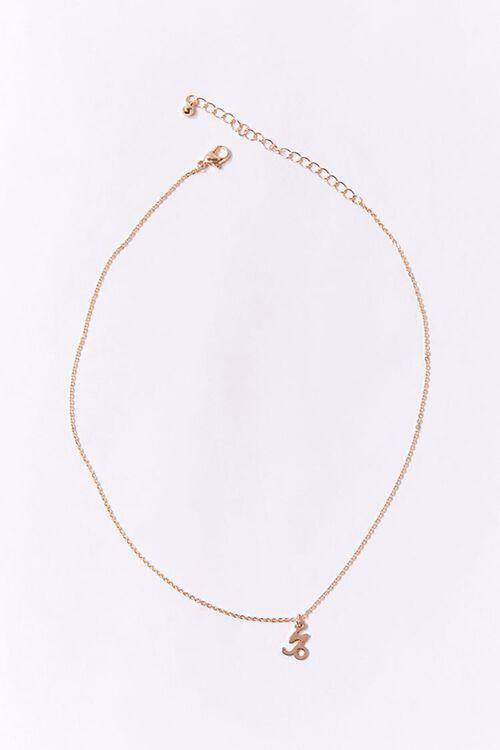 Capricorn Charm Necklace, image 2