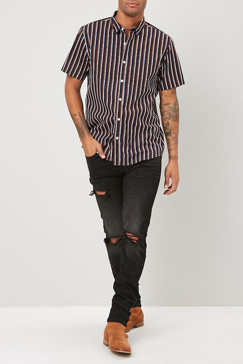 Striped Fitted Shirt, image 4