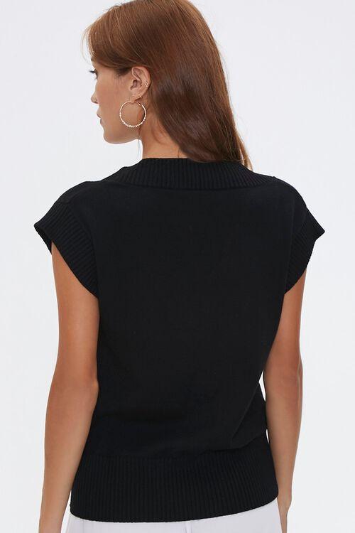 Cap-Sleeve Sweater Vest, image 3