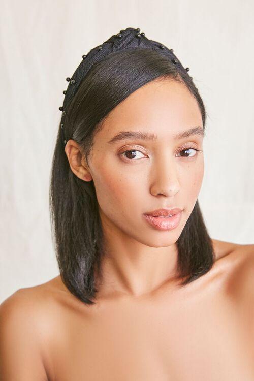 Bead-Embellished Knotted Headband, image 2