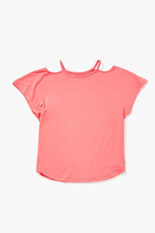 Girls Open-Shoulder Tee (Kids), image 1