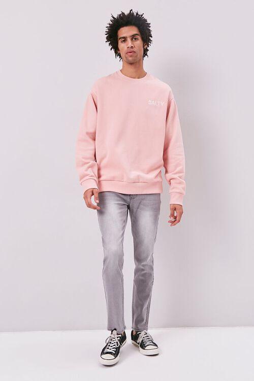 Salty Embroidered Graphic Fleece Sweatshirt, image 4