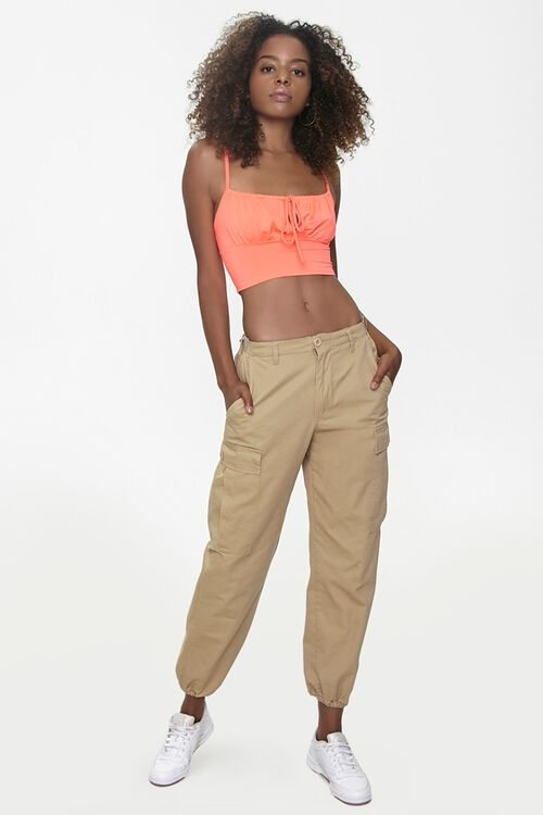 Self-Tie Cropped Cami, image 4