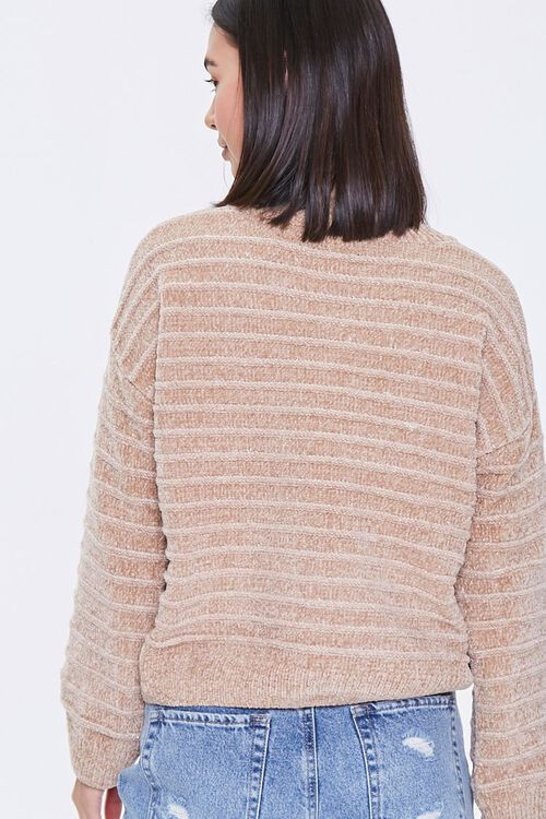 Chenille Ribbed Sweater, image 4