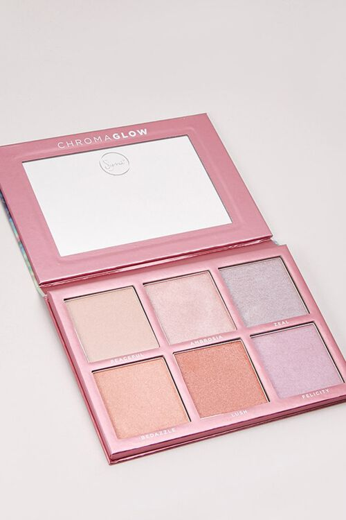 Chroma Glow Shimmer & Highlight Palette, image 1
