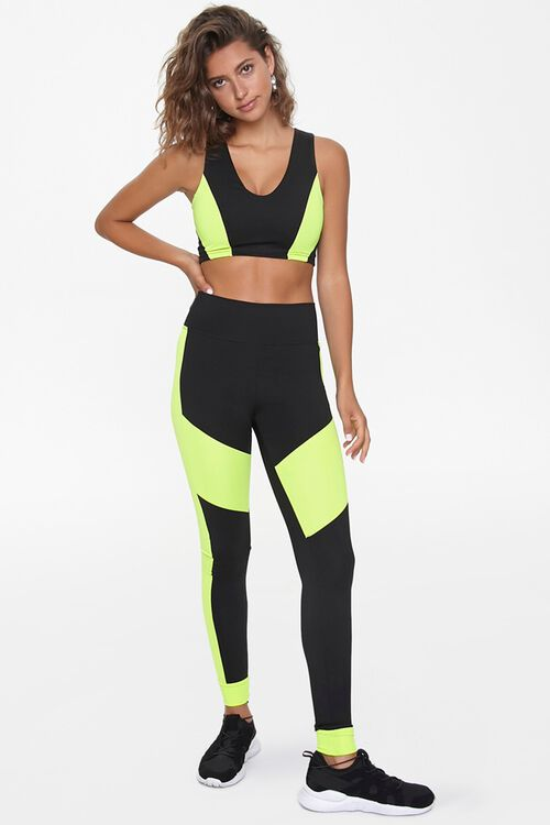 Active Colorblock Sports Bra, image 4