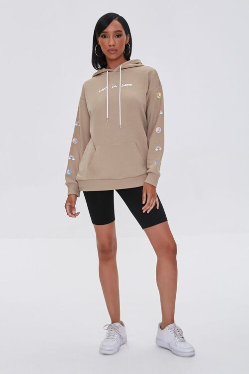 Love Embroidered Graphic Hoodie, image 5
