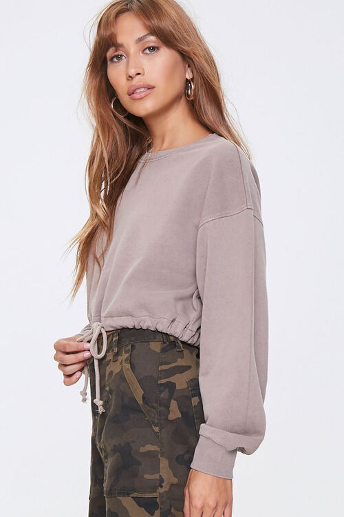French Terry Pullover Top, image 2
