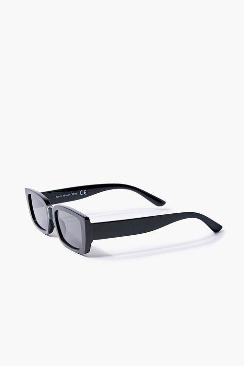 Semi-Translucent Rectangle Sunglasses, image 2