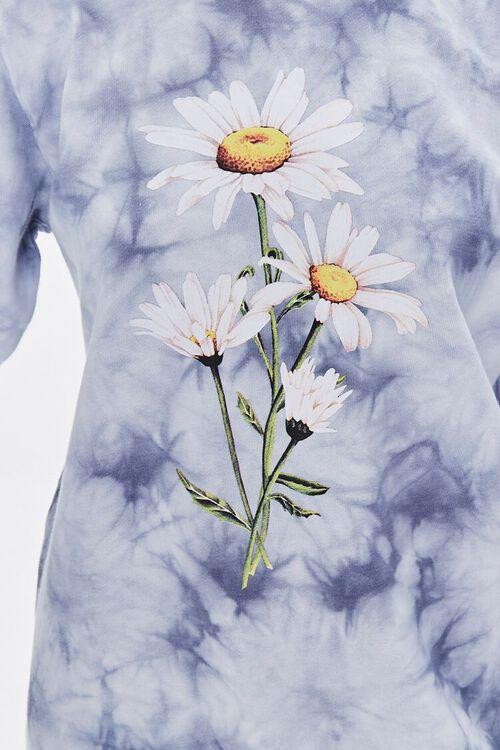 BLUE/MULTI Tie-Dye Floral Graphic Dress, image 5
