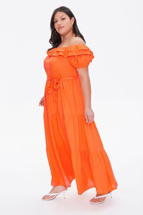 Plus Size Off-the-Shoulder Maxi Dress, image 3