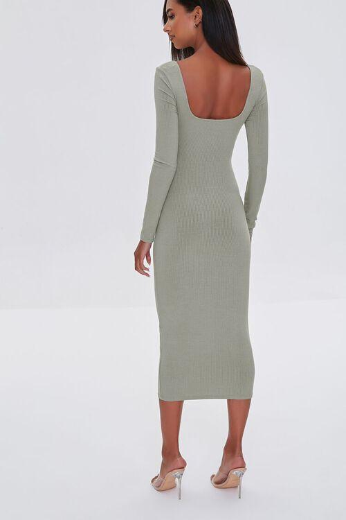 SAGE Cutout Midi Bodycon Dress, image 3