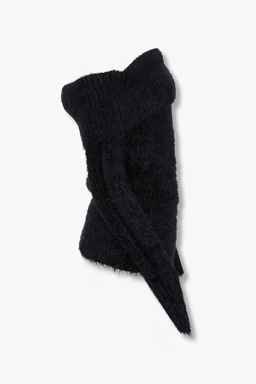 Foldover Off-the-Shoulder Sweater, image 2