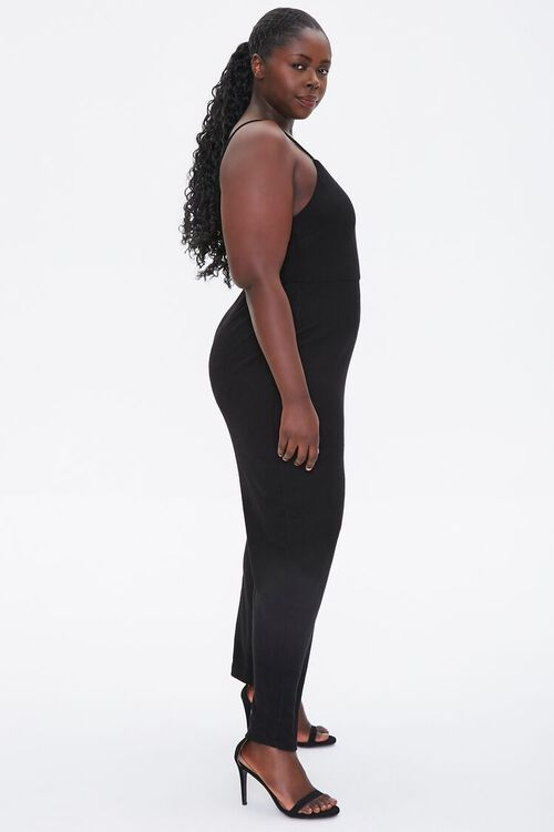 Plus Size Straight-Leg Cami Jumpsuit, image 2