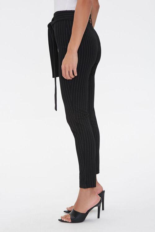 Belted Pinstripe Leggings, image 2