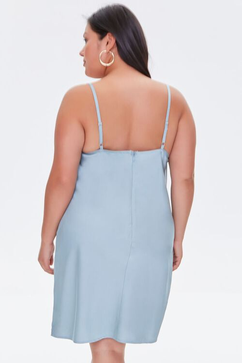 Plus Size Cami Slip Dress, image 3