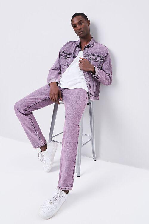Stonewashed Slim-Fit Jeans, image 5