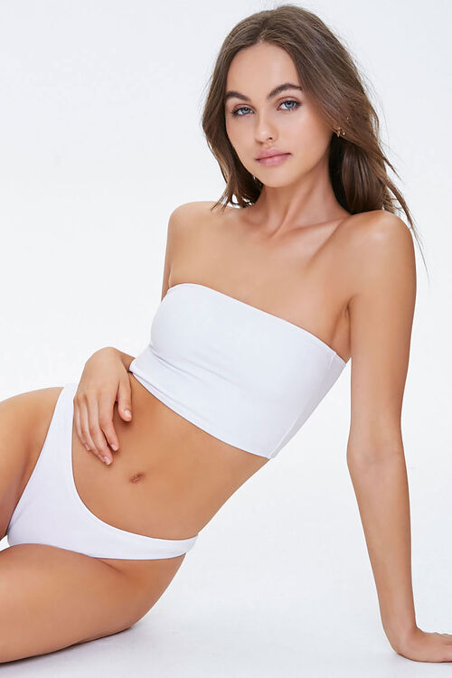 Cheeky Low-Rise Bikini Bottoms, image 5