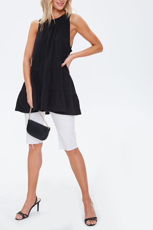 Sleeveless Slub Knit Tunic, image 4