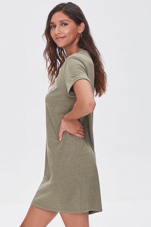 Los Angeles Graphic T-Shirt Dress, image 2