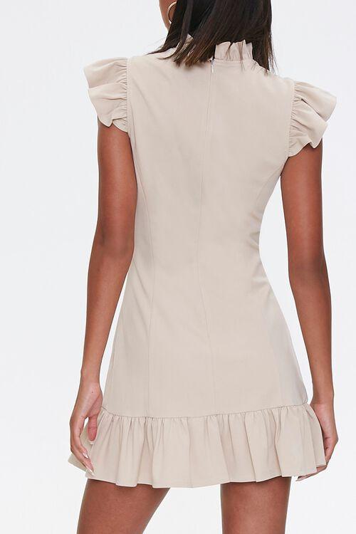 Flounce Bodycon Mini Dress, image 3