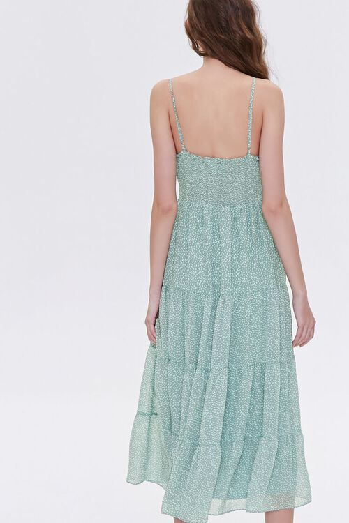 Spotted Print Cami Midi Dress, image 5