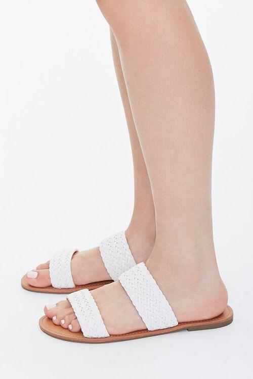 Basketwoven Slip-On Sandals, image 2