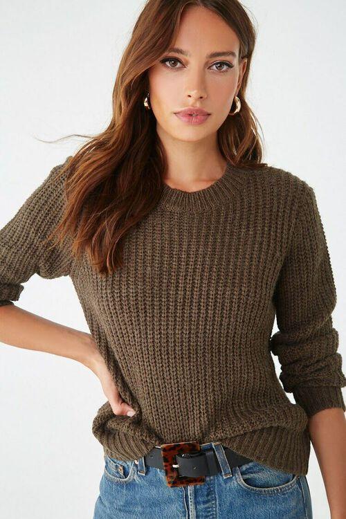 Chunky Knit Sweater, image 1