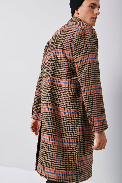 Glen Plaid Trench Coat, image 2