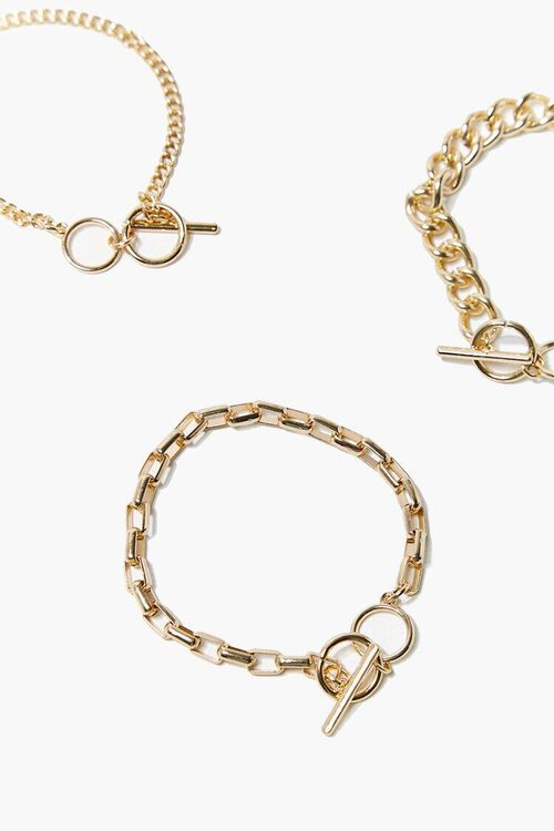 Toggle Chain Bracelet Set, image 2