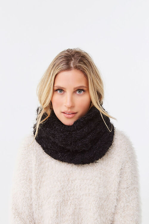 Brushed Chenille Infinity Scarf, image 1