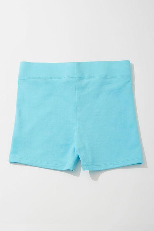AQUA Cotton-Blend 3-Inch Biker Shorts, image 2