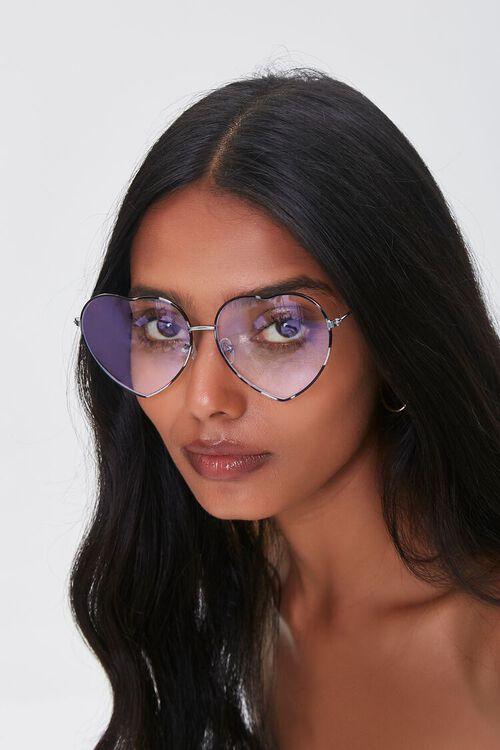 Heart-Shaped Blue Light Sunglasses, image 1