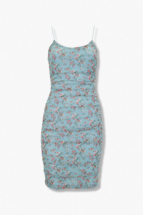 Floral Bodycon Mini Dress, image 1