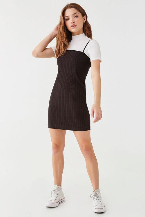Pinstriped Mini Dress, image 4