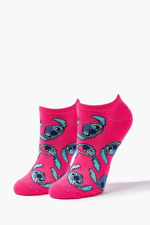 Stitch Print Ankle Socks, image 1