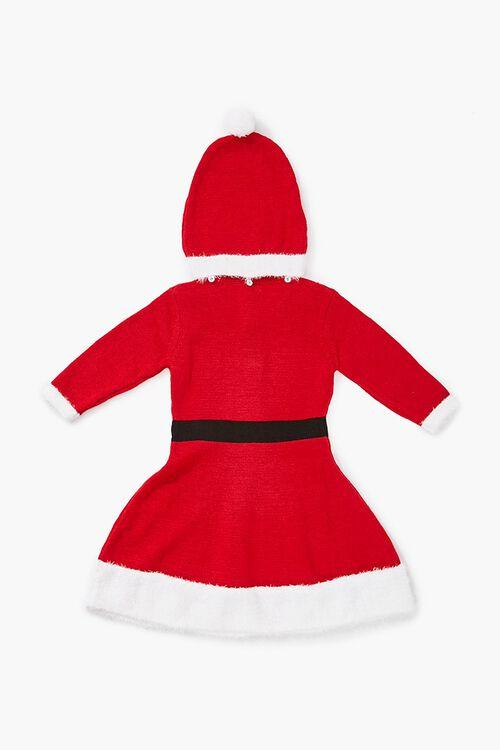 Girls Santa Sweater Dress (Kids), image 2